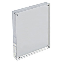"8.5"" x 11"" Vertical/Horizontal Acrylic Block Frame"