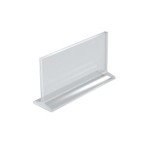 """8.5""""W x 5.5""""H Top-Load Two Sided Sign Holder"""