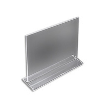 """11""""W x 8.5""""H Top-Load Two Sided Sign Holder"""
