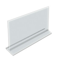 """14""""W x 8.5""""H Top-Load Two Sided Sign Holder"""