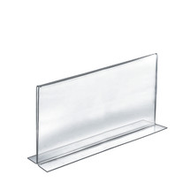 """14""""W x 8.5""""H Double-Foot Two Sided Sign Holder"""
