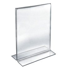 """11""""W x 17""""H Double-Foot Two Sided Sign Holder"""