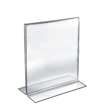 """11""""W x 14""""H Double-Foot Two Sided Sign Holder"""