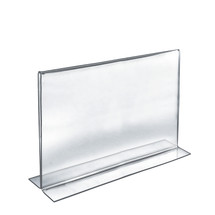 """14""""W x 11""""H Double-Foot Two Sided Sign Holder"""