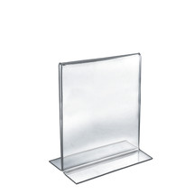 "8.5""W x 11""H Double-Foot Two Sided Sign Holder"