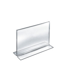 """11""""W x 8.5""""H Double-Foot Two Sided Sign Holder"""