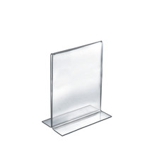 """7""""W x 11""""H Double-Foot Two Sided Sign Holder"""