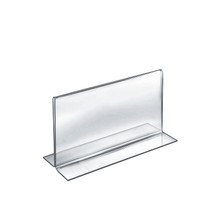 """11""""W x 7""""H Double-Foot Two Sided Sign Holder"""