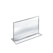 """10""""W x 8""""H Double-Foot Two Sided Sign Holder"""