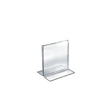 """5""""W x 6""""H Double-Foot Two Sided Sign Holder"""