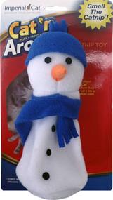 Cat'n Around Snowman Catnip Toy