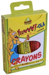 Yeowww!-ola Catnip Crayons