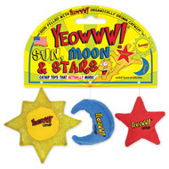 Yeowww!! Sun, Moon, and Stars Catnip Toy