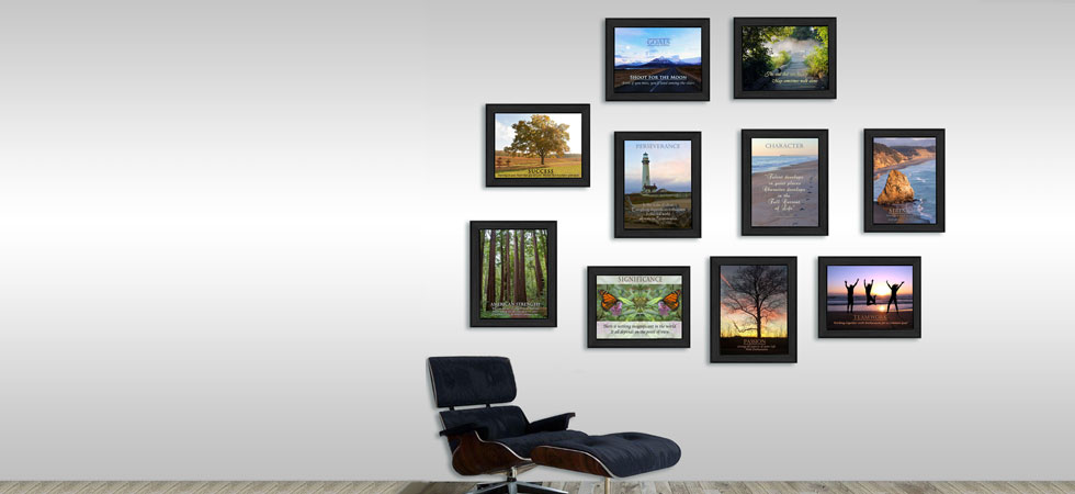 Image: Motivational prints