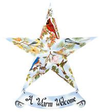 """10326 - """"Bird Medley Star"""" - 12"""" Star"""