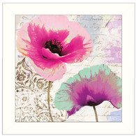 CB109-405 Poppies and-Paint II 12x12