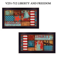 V251-712BLK LIBERTY AND FREEDOM