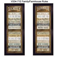 """V334-712 """"House Rules"""""""