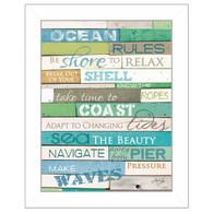 'Ocean Rules' by artist/designer Marla Rae