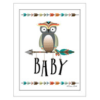"""Owl Baby"" by artist Susan Ball"