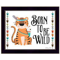 """Born Wild"" by artist Susan Ball"