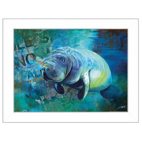 'Manatee 2' by artist Tim Dardis