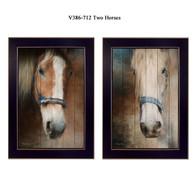 """V386-712 """"Two Horses"""""""