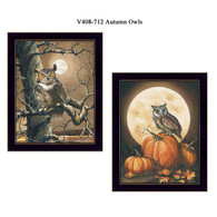 "V408-712 ""Autumn Owls"""