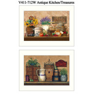 "V411-712W ""Antique Kitchen/Treasures"""