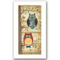 "ALP1319-712W ""Two Wise Owls"""