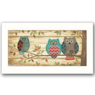"ALP1320-712W ""Three Wise Owls"""