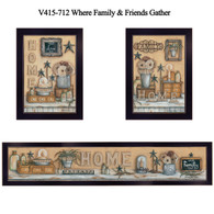 "V415-712 ""Where Friends and Family Gather"""