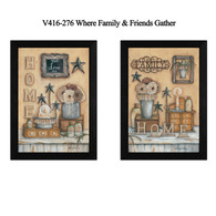 "V416-276 ""Where Friends & Family Gather II"""