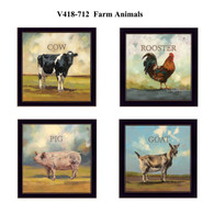 "V418-712 ""Farm Animals"""