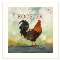 """COW309-712W """"Raleigh the Rooster"""""""