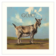 """COW311-712W """"Gracey the Goat"""""""
