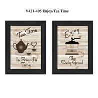 """V421-405 """"Enjoy/Tea Time"""""""