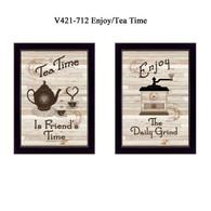 """V421-712 """"Enjoy/Tea Time"""""""