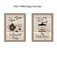 "V421-779SG ""Enjoy/Tea Time"""