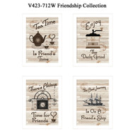 "V423-712W ""Friendship Collection"""