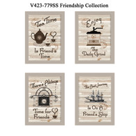 "V423-779SS ""Friendship Collection"""