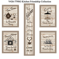 "V426-779SG ""Kitchen Friendship Collection"""