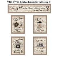 "V427-779SG ""Kitchen Friendship Collection II"""