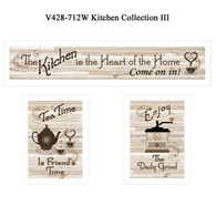 "V428-712W ""The Kitchen Collection III"""