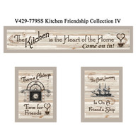"V429-779SS  ""Kitchen Friendship Collection IV"""