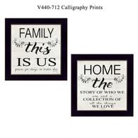 "V440-712 ""Calligraphy Prints"""
