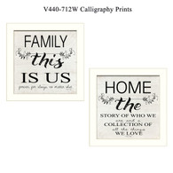 "V440-712W ""Calligraphy Prints"""