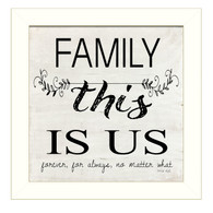 "CIN909-712W ""Family-This is Us"""