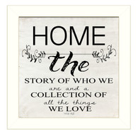 "CIN910-712W ""Home-A story of who we are"""