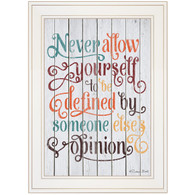 """SB380-226G """"Never Allow Yourself"""""""